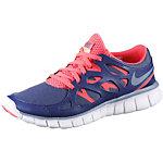 Nike Free Run 2 Laufschuhe Damen blau