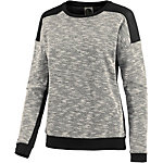 all about eve Sweatshirt Damen graumelange/schwarz
