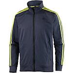 adidas Essential 3S Trainingsjacke Herren dunkelgrau/gelb
