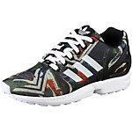 adidas ZX Flux Sneaker Damen schwarz/bunt