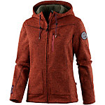 OCK Strickfleece Damen rot