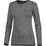 Craft Active Comfort Funktionsshirt Damen schwarz/melange
