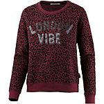 Pepe Jeans Sweatshirt Damen rot/schwarz