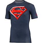 Under Armour Superman 2.0 Comp Kompressionsshirt Herren navy