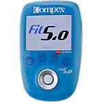 Compex Fit 5.0 Muskelstimulator blau