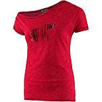 PrimEmotion Asymmetric Printshirt Damen rot