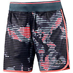 adidas Shorts Damen anthrazit/grau