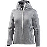 SALEWA Kitz Strickfleece Damen hellgrau