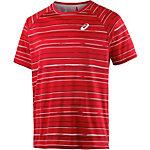 ASICS Club Graphic SS Tee Tennisshirt Herren rot/grau