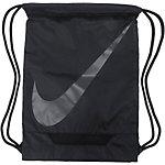 Nike Turnbeutel schwarz/grau