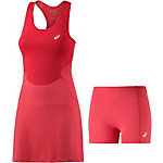 ASICS Athlete Dress Tenniskleid Damen hibiskus