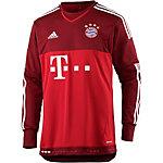 adidas FC Bayern 15/16 Auswärts Fußballtrikot Herren rot