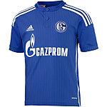 adidas FC Schalke 04 14/15 Fußballtrikot Kinder blau