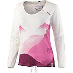 Chillaz Antalya Alps Printshirt Damen creme/lila