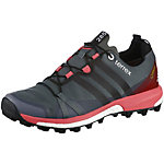 adidas Terrex Agravic GTX Mountain Running Schuhe Damen grau/koralle