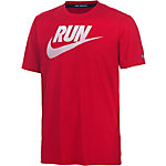 Nike Challenger Laufshirt Herren rot