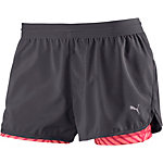 PUMA Laufshorts Damen grau/orange