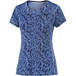 Nike Miler Laufshirt Damen blau/schwarz