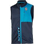 SCOTT Thermal Vest Actifit Softshell Rückenprotektor Herren schwarz/blau