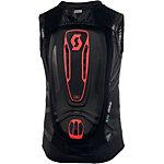 SCOTT Protector Vest Actifit Pro Softshell Rückenprotektor Herren schwarz/rot