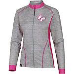 Wildzeit Emilie Fahrradjacke Damen grau/pink