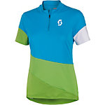 SCOTT Trail Flow Fahrradtrikot Damen hawai blue