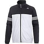 adidas Base Mid Trainingsjacke Herren weiß/schwarz