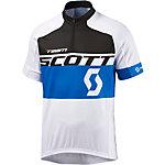 SCOTT RC Team Fahrradtrikot Herren weiß blau