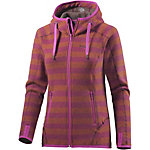 Bergans Humle Strickfleece Damen orange/pflaume