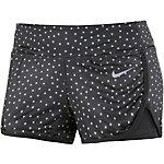 Nike Court Printed Short Laufshorts Damen schwarz