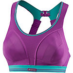 Shock Absorber Run Sport-BH Damen lila/türkis