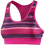 Moving Comfort Sureshot Racer Sport-BH Damen pink/lila/gestreift