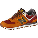 NEW BALANCE ML 574 Sneaker Herren orange