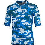 adidas Tech Fit Base Funktionsshirt Herren blau