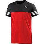 adidas Base Mid Funktionsshirt Herren rot/schwarz