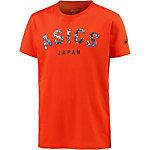 ASICS Logo Printshirt Herren rot