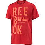 Reebok T-Shirt Herren rot