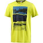 Protest Printshirt Jungen gelb