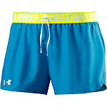 Under Armour Funktionsshorts Damen petrol/gelb