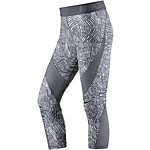 Nike Pro Hypercool Tidal Multi Tights Damen dunkelgrau/grau
