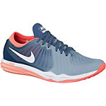 Nike Dual Fusion Trainer 4 Print Fitnessschuhe Damen hellblau/blau/grau