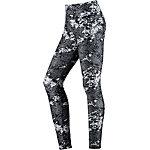 Nike Legend Tights Damen schwarz/weiß