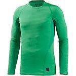 Nike Pro Kompressionsshirt Herren grün