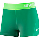 Nike Pro Dry Fit 3'' Tights Damen hellgrün