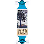 Madrid Palm Longboard blau