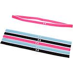 Under Armour 6er Pack Haarband Damen pink/hellblau/schwarz
