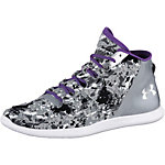 Under Armour StudioLux Mid Cover Fitnessschuhe Damen grau/weiß