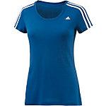 adidas Funktionsshirt Damen blau/weiß