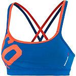 Reebok One Series Sport-BH Damen blau/gelb