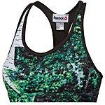 Reebok Sport-BH Damen grün/weiß